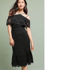Anthropologie LUCCA TRUMPET DRESS new